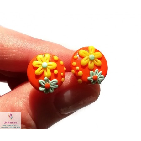 /2173-10163-thickbox/daisy-post-earrings-for-women-girls-orange.jpg