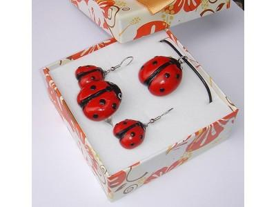 Unique handmade Ladybugs