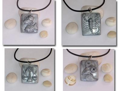Zodiac Pendants for Men