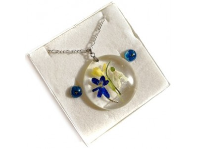 FRESH! Resin Real Flower Jewelry